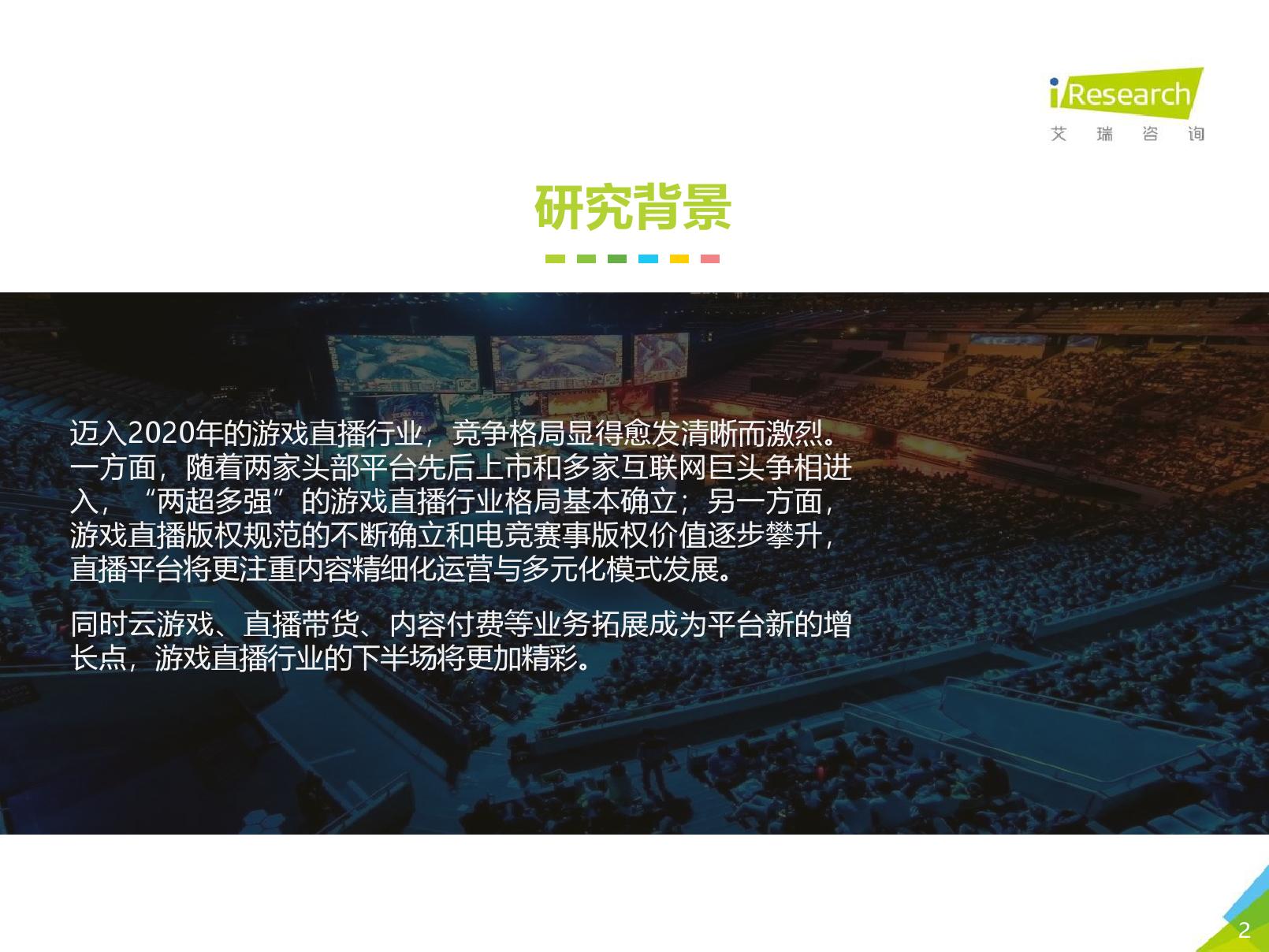 艾瑞咨询:2020年中国游戏直播行业研究报告(可下载报告)插图(3)